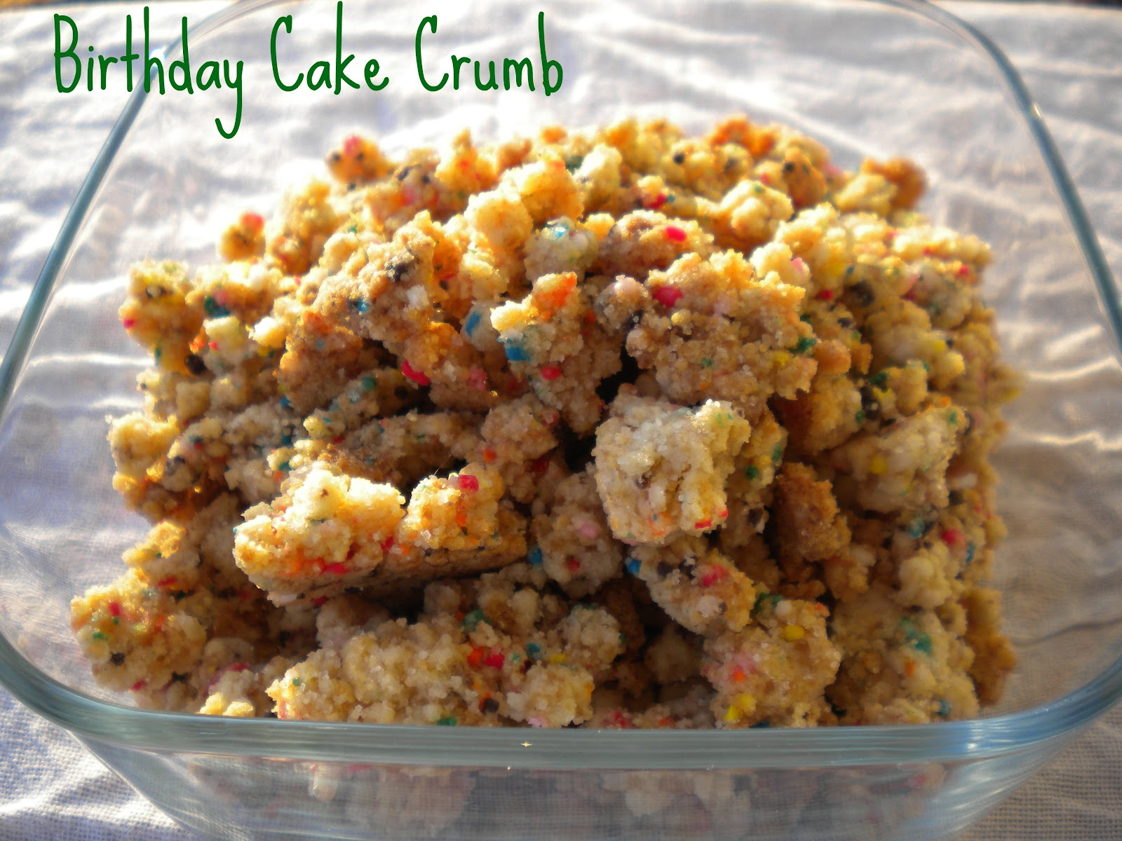 Milk Bar Birthday Cake Crumb