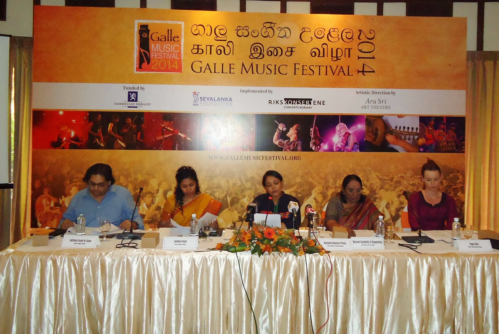 The Galle Music Festival 15th of March 2014