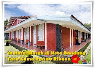 10 Hotel Murah di Lembang Bandung, Tarif Cuma 100 Ribuan