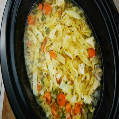 Weight Watchers Crock Pot Chicken Noodle Soup