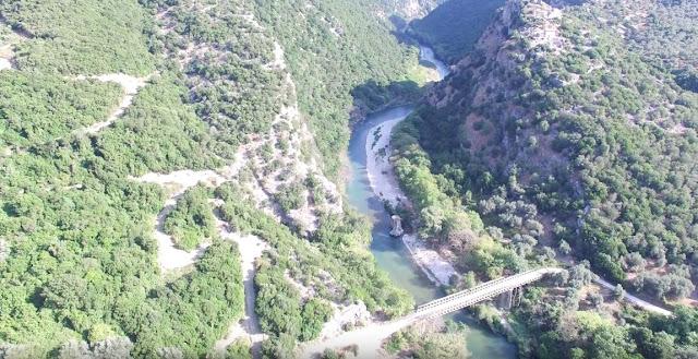 Πλάνα από Στενά Καλαμά με τη χρήση drone (ΒΙΝΤΕΟ)