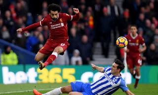 Mohamed Salah Top Scorer Sementara Liga Inggris