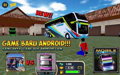 Download Mobile Bus Simulator MOD Apk v1.0.2 Unlimited Money Terbaru