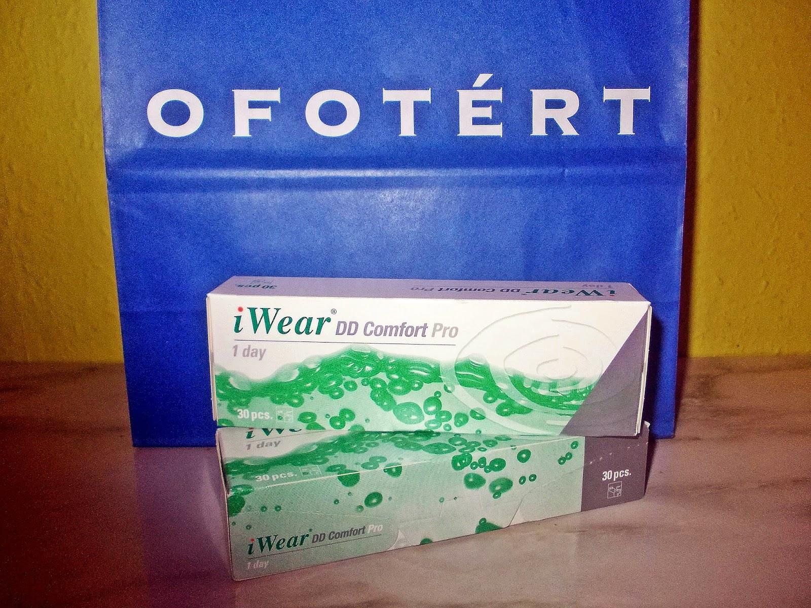 iWear DD Comfort pro kontaktlencse  99e6b3edb8