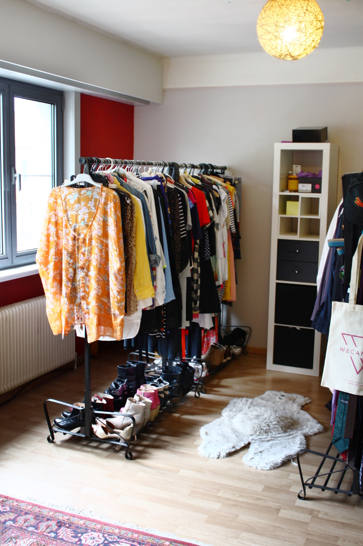 Closet Overhaul Organizing And Essentializing The Styling