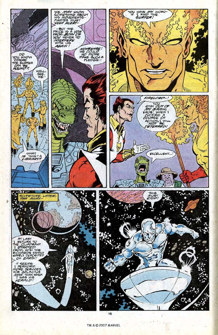 Read online Silver Surfer (1987) comic -  Issue #19 - 18