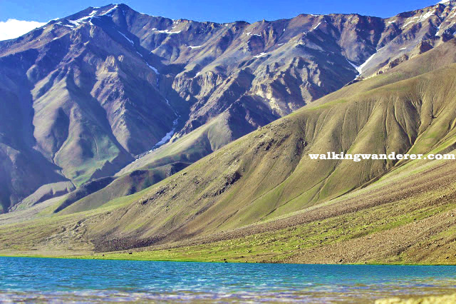 chandratal lake place to visit in spiti valley