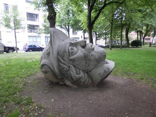 Testa statua