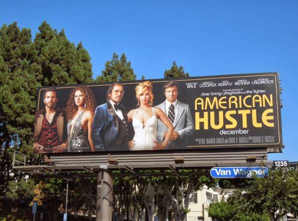 American Hustle film billboard