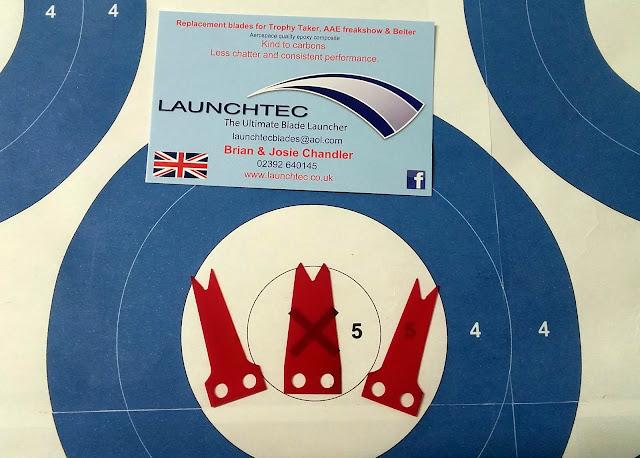 Les lames de repose-flèche - L'alternative Launchtec 20180115_145400