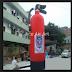 Guarapuava - Um extintor será o novo monumento da cidade