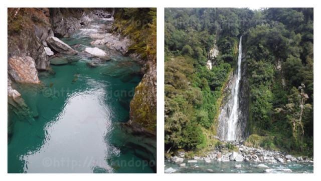 Blue Pools y Fantail Falls