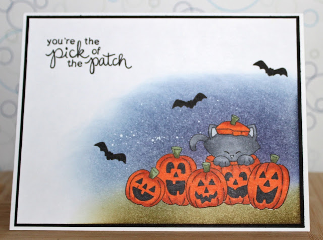 You're the pick of the patch by Trina features Newton's Boo-tiful Night by Newton's Nook Designs; #newtonsnook