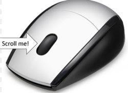 scorrimento fluido rotellina mouse