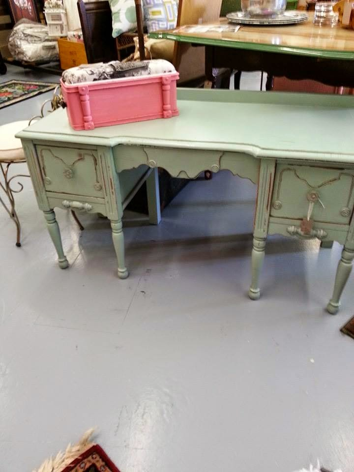 Treats By Tanya Blue Chair Furniture Consignment