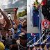 Las selecciones de Francia y Croacia llegaron a sus paises y fueron recibidos por una multitud