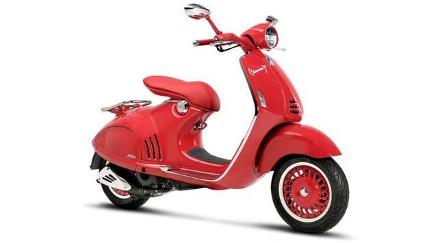 Vespa Scooter 946 Red Matic Terbaik Edisi Terbatas