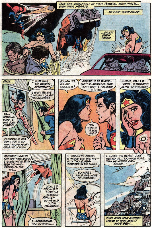 Wonder Woman #300: Roy Thomas, Dann Thomas, Gene Colan, Ross Andru, Keith Giffen, Jan Duursema, Dick Giordano, Rich Buckler, Keith Pollard. Wonder Woman created by William Moulton Marston and H.G. Peter.
