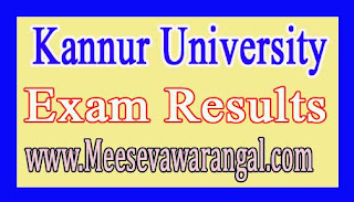 Kannur University M.Sc Microbiology IVth Sem (Regular 2014 Admn) Mar 2016 Exam Results