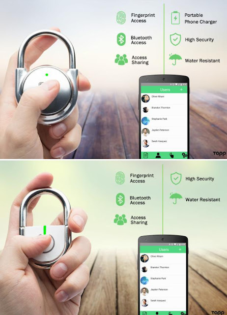Smart Padlocks for You - Tapplock