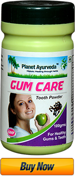 Gum Care Powder, Buy Online, Planet Ayurveda