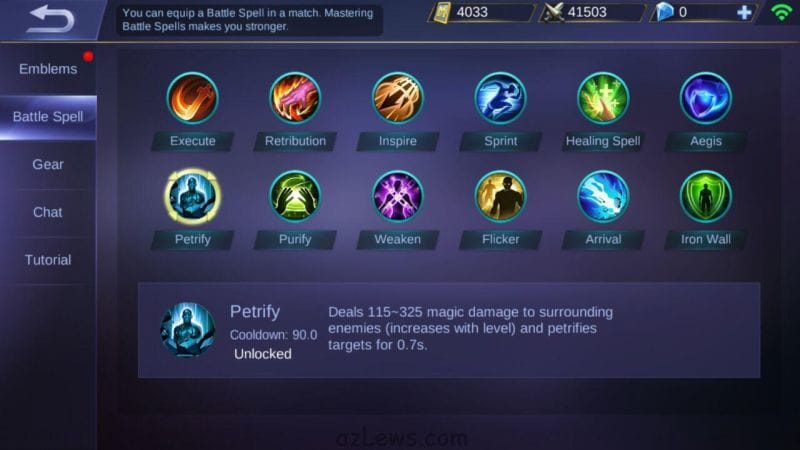 Guide Battle Spell Mobile Legends to become more powerful!