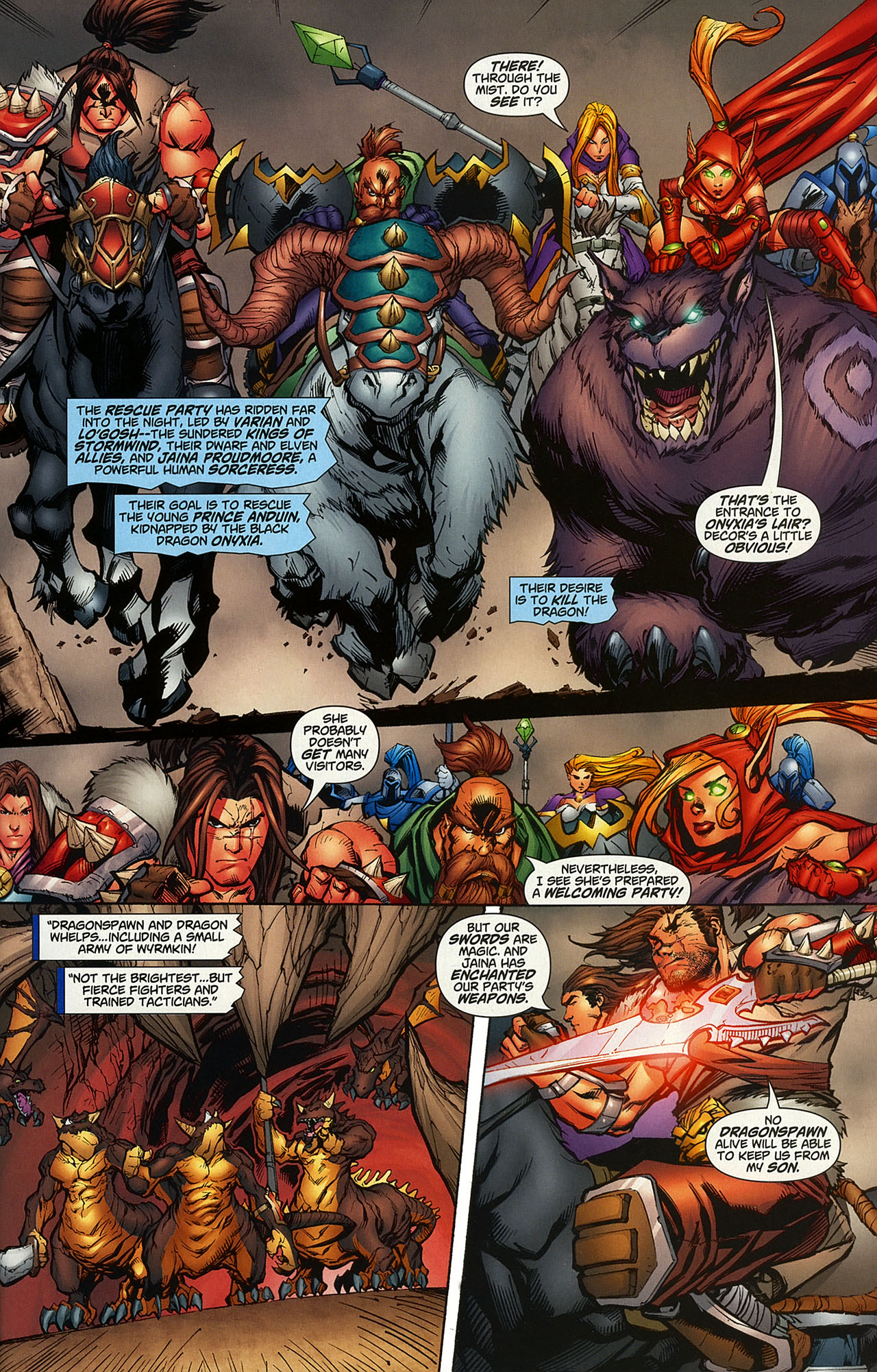 Read online World of Warcraft comic -  Issue #14 - 2