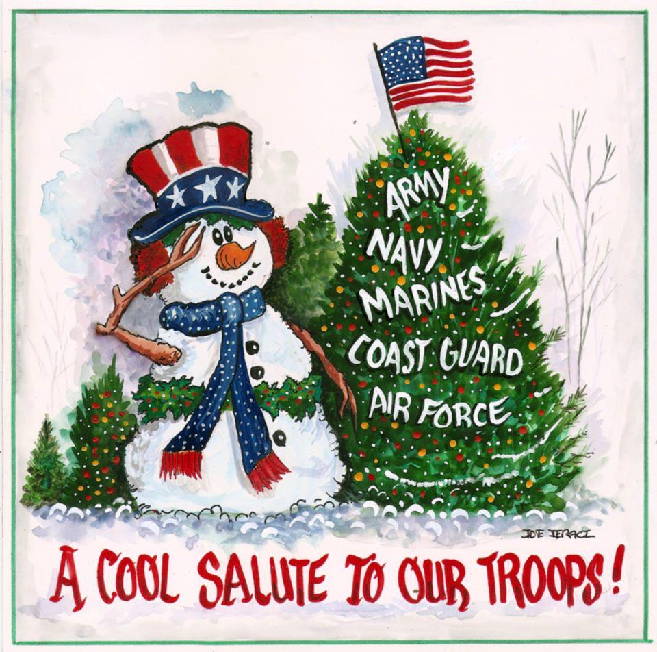 The Lonely Libertarian: Merry Christmas To Our Troops