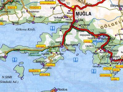 marmaris harita