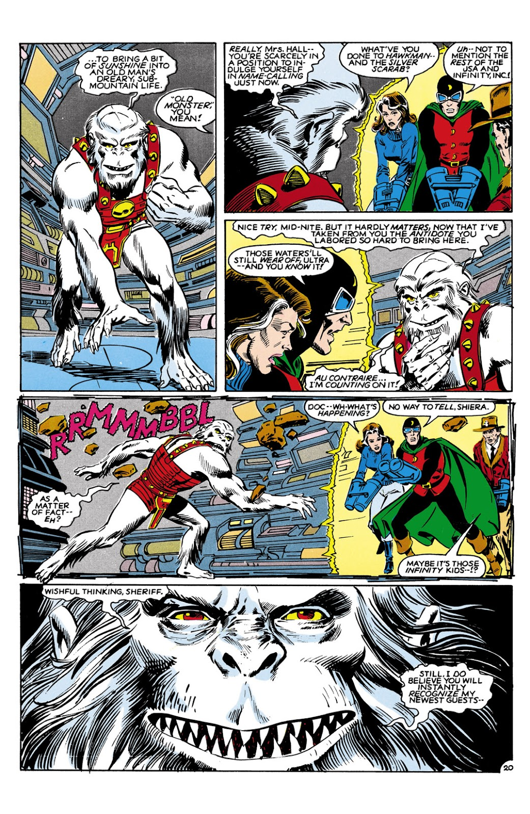 Infinity Inc. (1984) issue 9 - Page 20