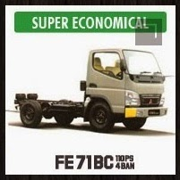Chassis Bis Mitsubishi Colt Diesel FE 71 BC, 110 PS, 4 Ban