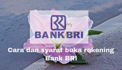 persyaratan dan cara daftar buka tabungan di bank BRI