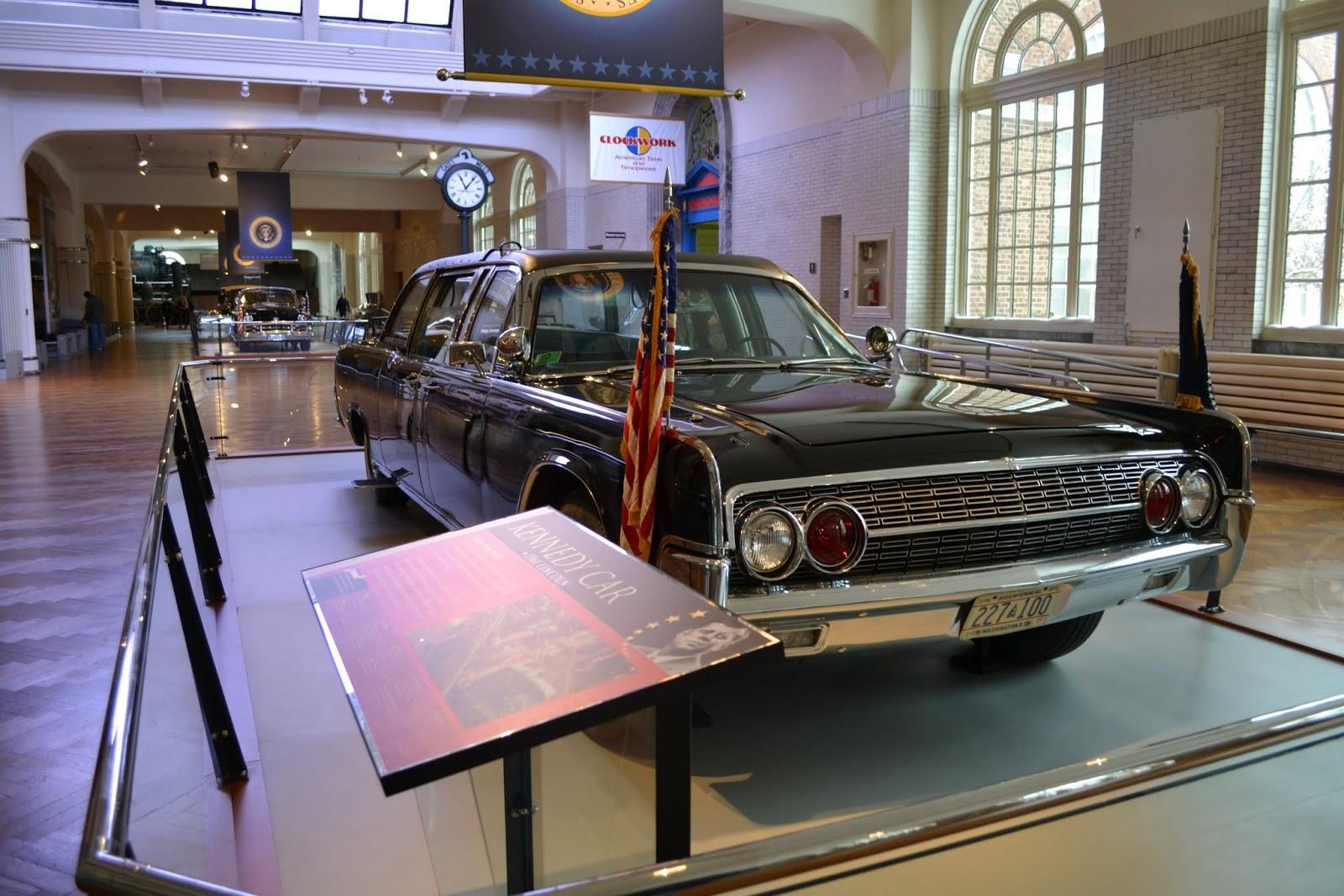 Музей Генри Форда - Автомобиль в котором застрелили Кеннеди (Henry Ford Museum - Presidential Limousines)
