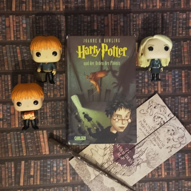 [Rezension] J.K. Rowling - Harry Potter und der Orden des Phönix