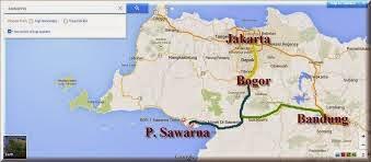 Lokasi Pantai Sawarna Sukabumi Jawa Barat