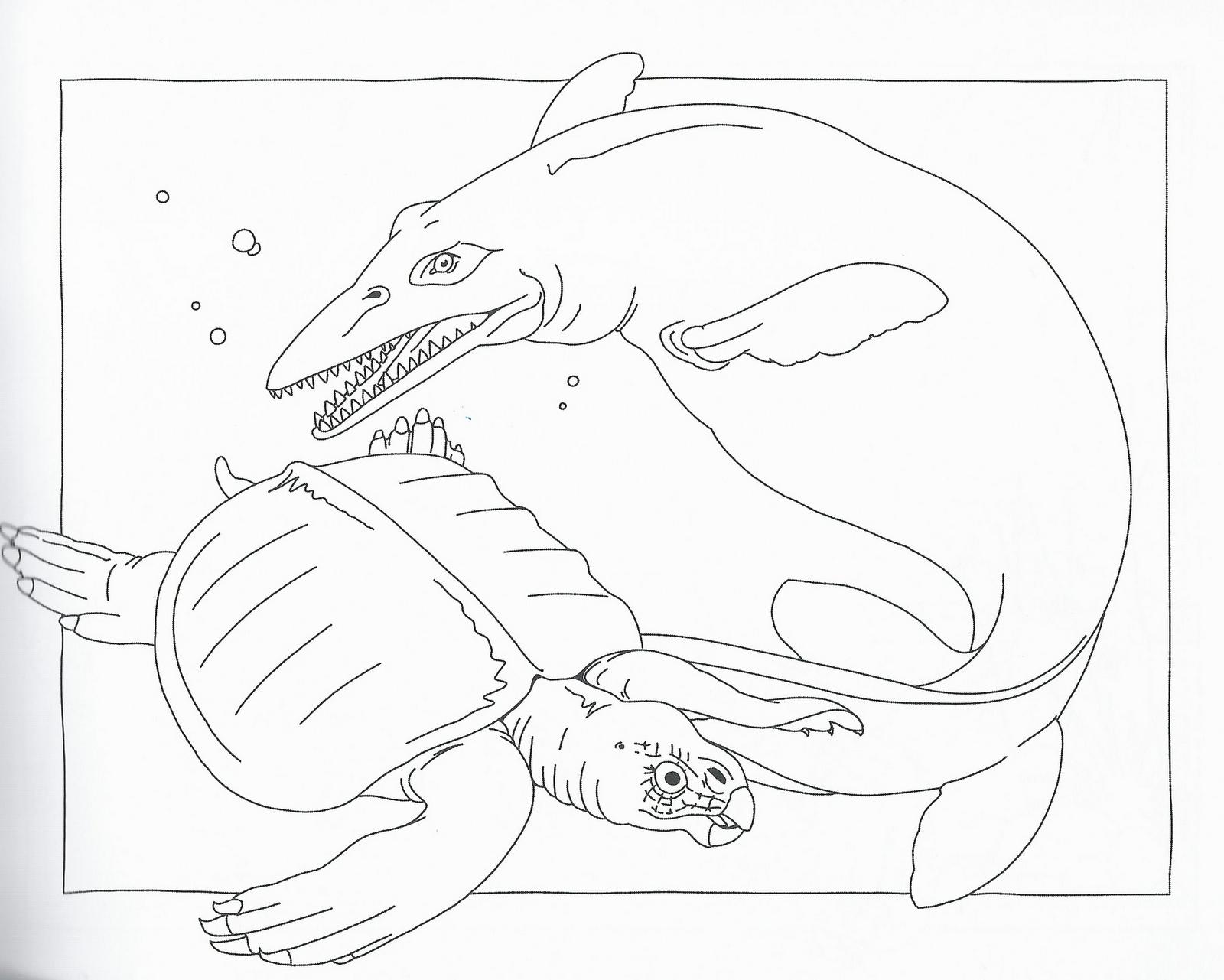 Disegni da colorare disegni da colorare i dinosauri for Disegni di lupi da stampare