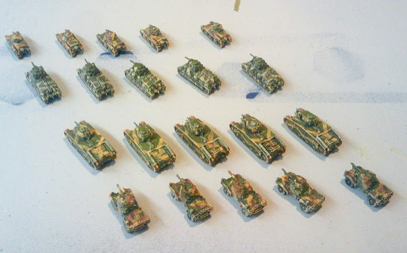 Stern Rake Studio: Pass and Review: French Micro Armor