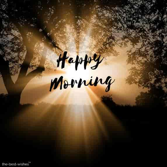 happy morning photos