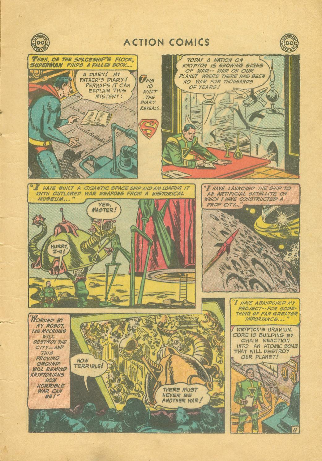 Read online Action Comics (1938) comic -  Issue #216 - 14