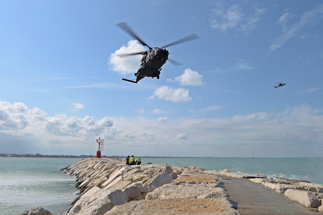 Elicotteri AVES ricerca soccorso