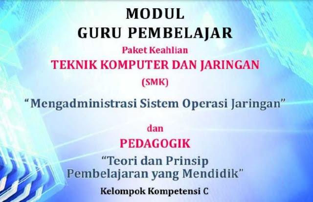 Download Modul Mengadministrasi Sistem Operasi Jaringan TKJ