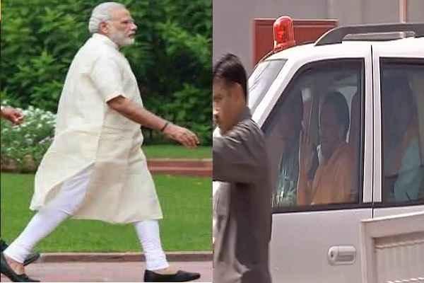 PM MODI ने मिलने के लिए CM YOGI पहुंचे दिल्ली
