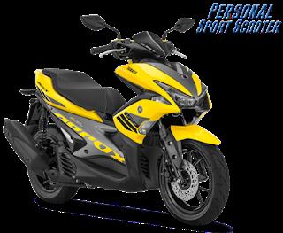 Harga Motor Yamaha Maxi Aerox VVA Terbaru Murah