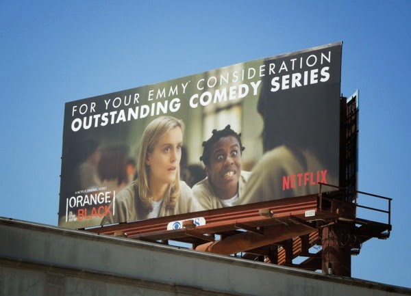 Orange is the New Black Crazy Eyes Emmy billboard