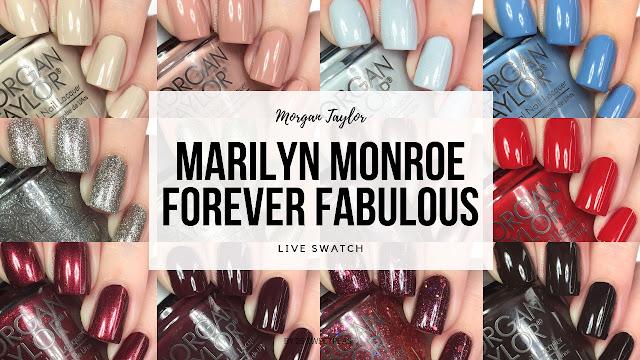 Morgan Taylor Forever Fabulous Marilyn Monroe