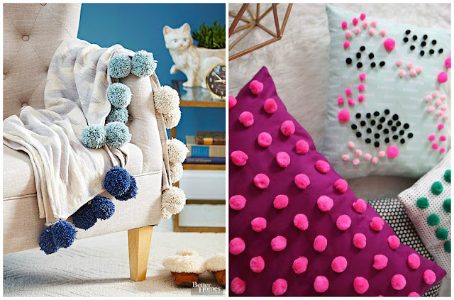 Pom - Pom Blanket Pillow