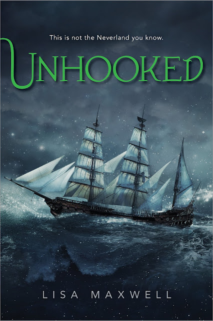 @PageTurnersBlog: Cover Reveal: UNHOOKED by Lisa Maxwell + ARC & 6 Book Giveaway