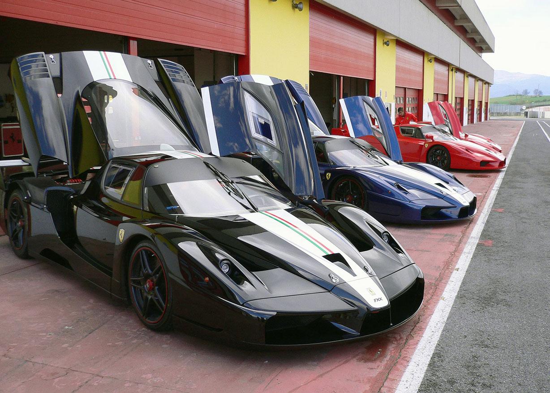 Automotive Engineering Wallpaper: ferrari fxx black