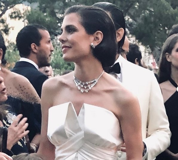 Charlotte Casiraghi got married with film producer Mr. Dimitri Rassam