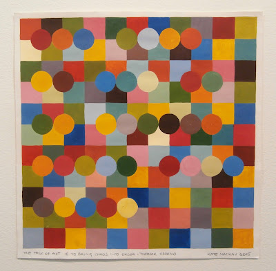 painting, geometric abstraction, kate mackay, articulate, gouache